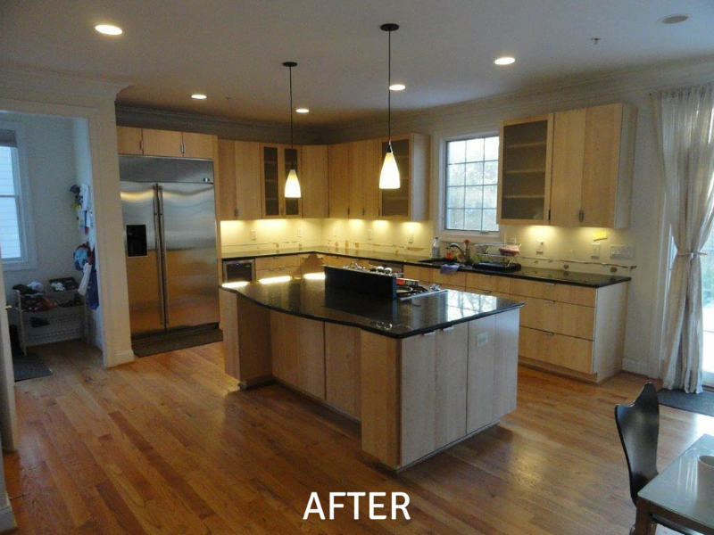 Kitchen Remodeling Photos - After