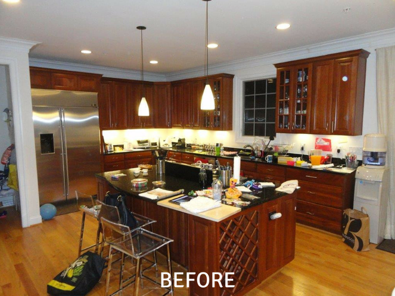 Kitchen Remodeling Photos - Before