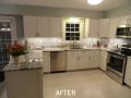 Kitchen Cabinet Resurfacing Photos - After