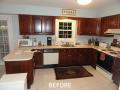 Kitchen Cabinet Resurfacing Photos - Before