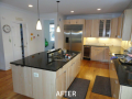 Kitchen Cabinet Resurfacing Pictures - After