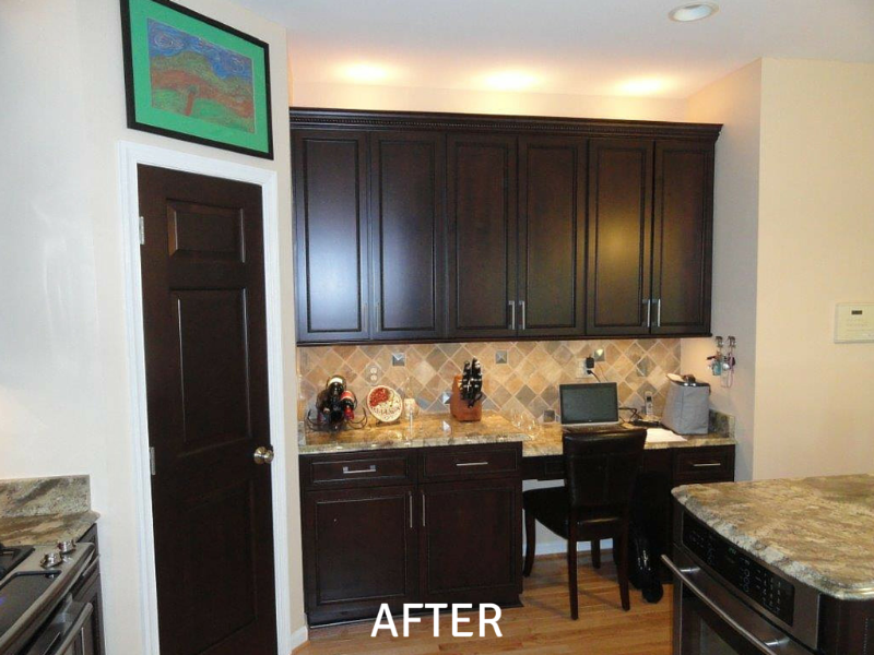 kitchen cabinets pennsylvania kitchen cabinet refacing amp refinishing in pennsylvania 3159