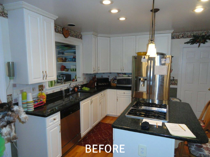 Kitchen Remodeling Pictures - Before
