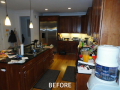 Kitchen Cabinet Resurfacing Pictures - Before