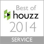 Best of Houzz Customer Service 2014 - Potomac Cabinet Refacing