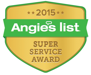 Angie's List Super Service Award 2015 - The Cabinet Restoration Company Rockville, MD