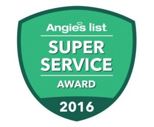 Angie's List Super Service Award 2016 - Maryland Custom Cabinetry