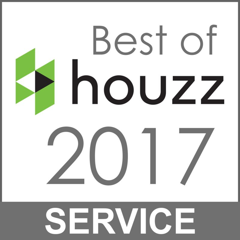Best of Houzz 2017 Customer Service Award for Kitchen Remodeling and Cabinet Refacing in Maryland